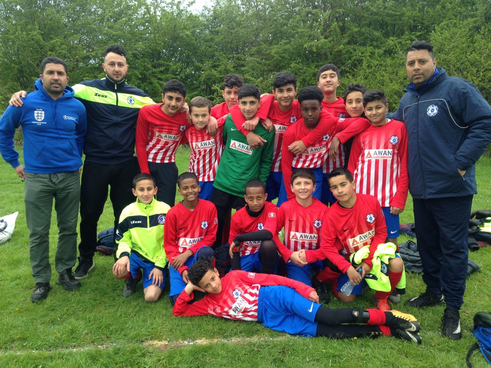 Under 14's team